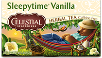 Image of Sleepytime Vanilla Herbal Tea packaging
