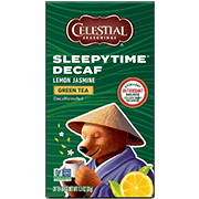 Sleepytime Decaf Lemon Jasmine Green Tea - Click for More Information
