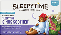 Sleepytime Sinus Soother Wellness Tea [cel-519529.jpg] - Click for More Information
