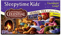 Sleepytime Kids Goodnight Grape Herbal Tea - Click for More Information