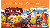 Click here to purchase Sweet Harvest Pumpkin Black Tea