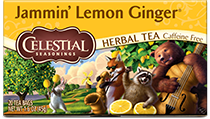 Jammin' Lemon Ginger Herbal Tea - Buy Now
