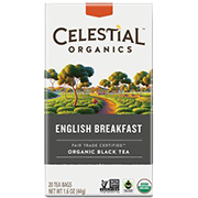 Fair Trade Organic English Breakfast - Click for More Information