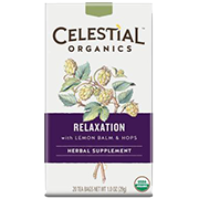 Relaxation Organic Wellness Tea [cel-533976.jpg] - Click for More Information