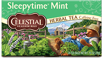 Click here to purchase Sleepytime Mint Tea