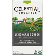 Fair Trade Organic Lemongrass Green - Click for More Information