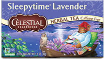 Image of Sleepytime Lavender® Herbal Tea packaging
