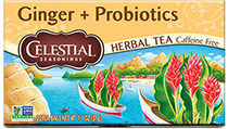 Ginger Probiotics Herbal Tea  [cel-541322.jpg] - Click for More Information