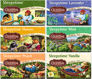 Sleepytime Variety 18-Pack [cel-vpspy.jpg] - Click for More Information